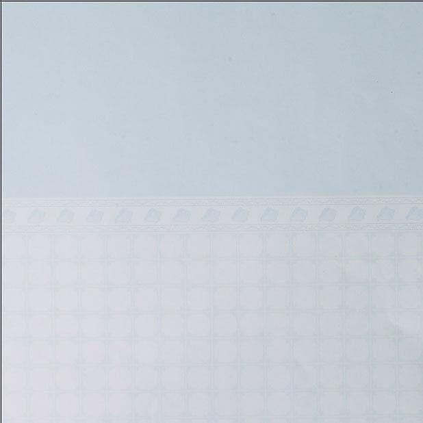 Dolls House Wallpaper - Shell Tiles Blue (Pack Of 3)