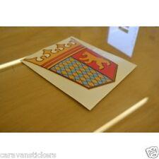 TABBERT - (FLAT VINYL) - Caravan Crest Sticker Decal Graphic - SINGLE