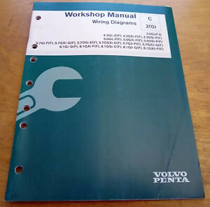 Details about Volvo Penta 3.0L 4.3L 5.0L 5.7L 8.1L Stern Drive Wiring on