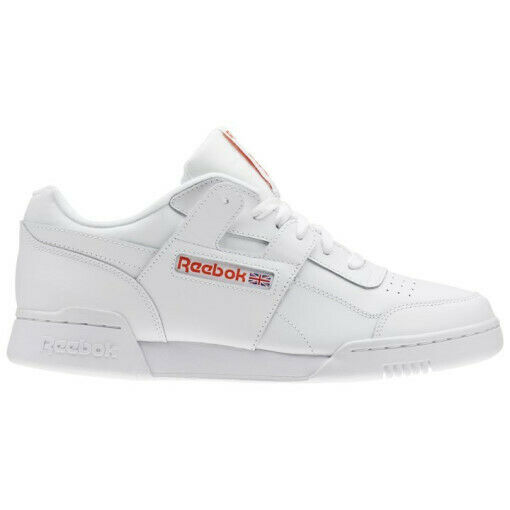 Reebok Classic Work out Plue MU Running shoes Sneakers CN5203 SZ5-12 White