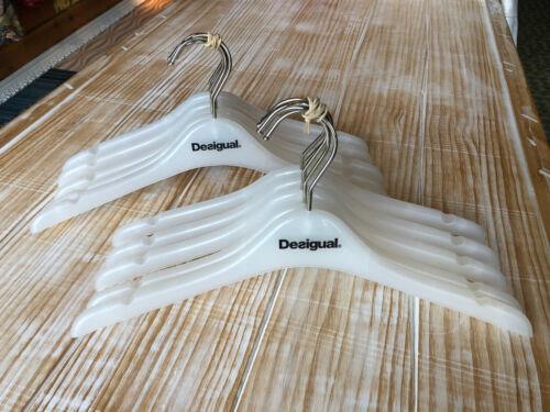 10x//30x//50x Desigual Kleiderbügel Kunststoff 39 cm gefrostet gebraucht