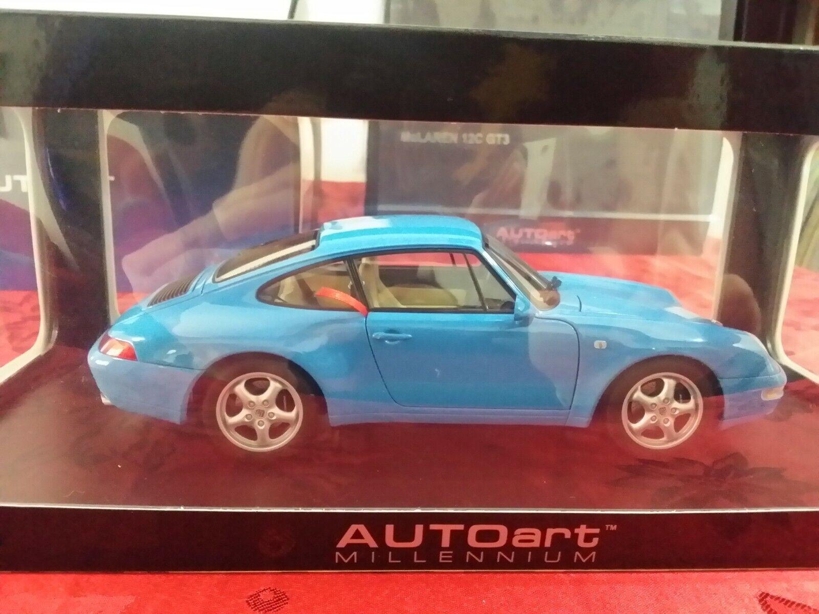Porsche 911 (993) celeste autoart 1 18