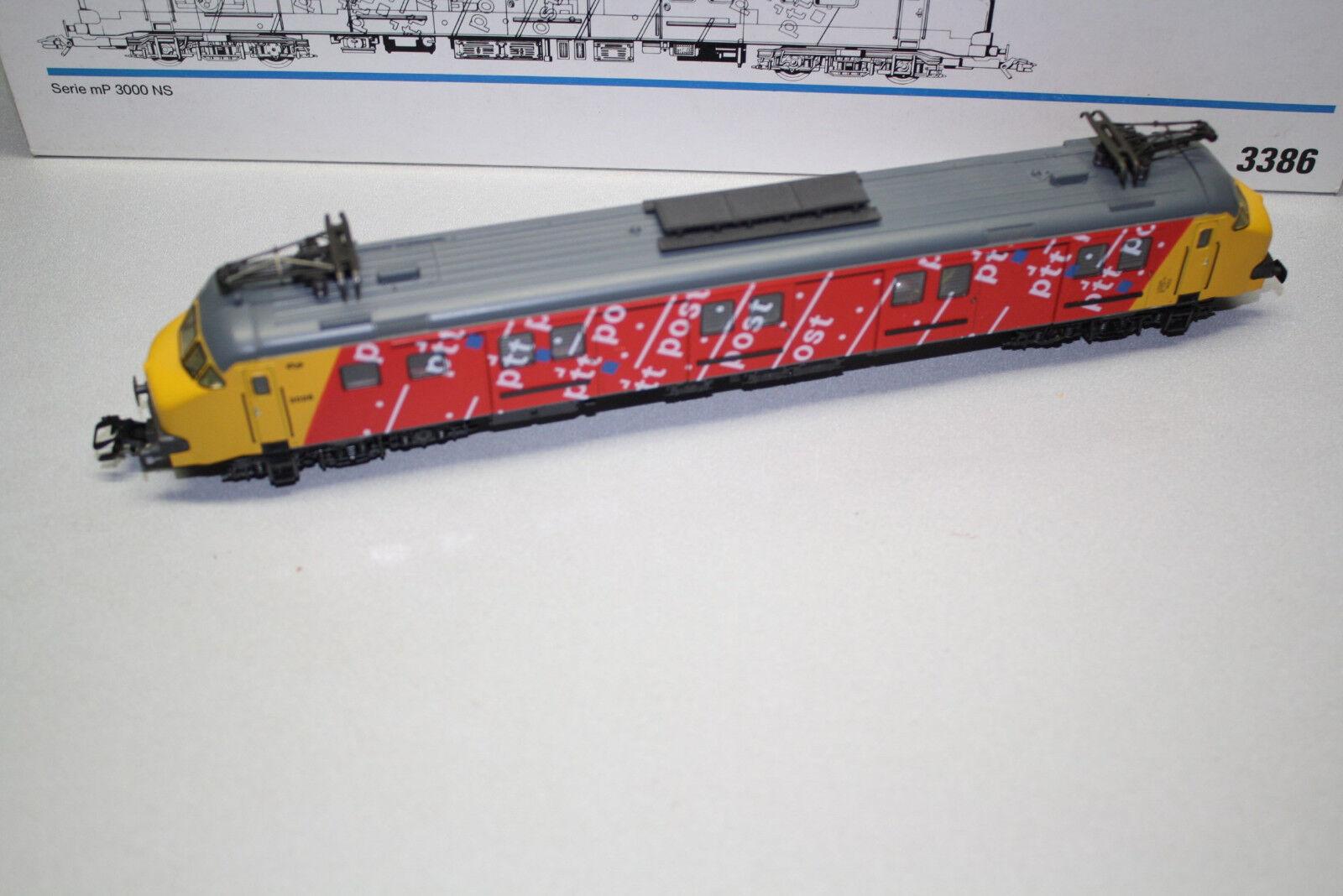 Märklin 3386 elok serie MP 3000 NS traccia h0 OVP