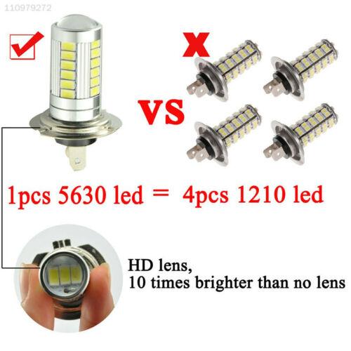 EBFF LED Bulb Lamp Headlight 30W H7 5630 Type Light DC 12V White Durable