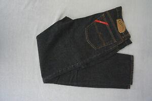 CAROCHE-Carbono-Herren-Men-Jeans-high-waist-Hose-38-34-W38-L34-schwarz-NEU-ad26