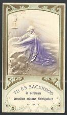 Holy card antique de Jesus en Getsemani santino image pieuse