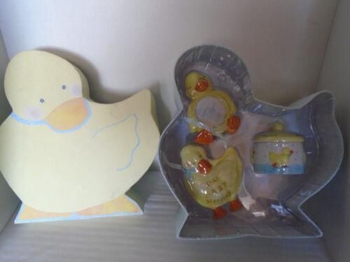 New Lady Jayne Ltd 3 Piece Ceramic Duck Dresser Set