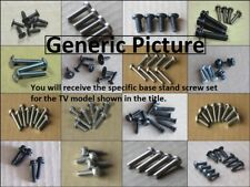 LG 42LD450 Complete Screw Set for Base Stand Pedestal and Neck