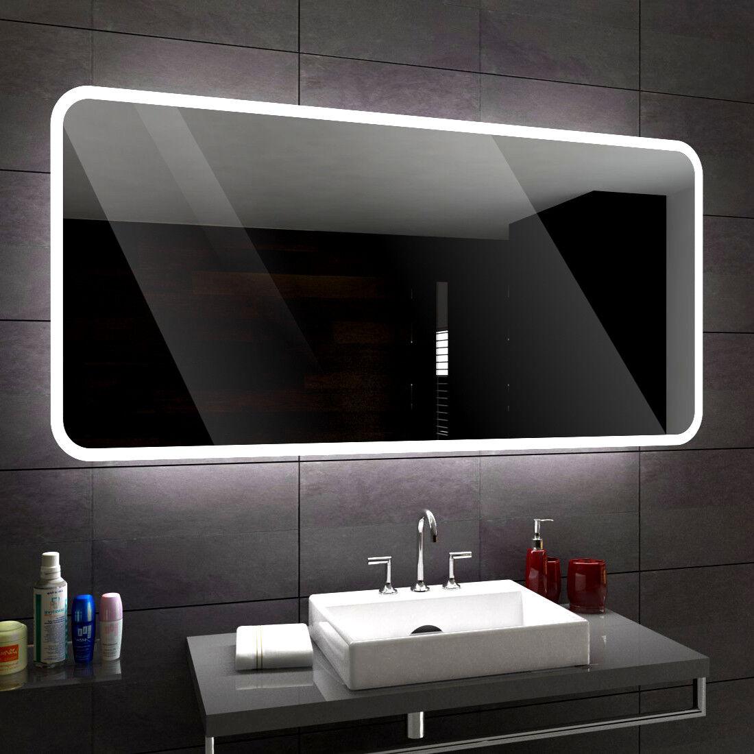 Osaka éclairé del Miroir de Bain Led personnalisé Größe versions ...