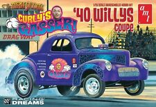 AMT 1:25 Curly's Gasser 1940 Willy's Coupe Plastic Model Kit AMT939