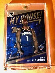 Zion-Williamson-DONRUSS-OPTIC-HOT-ROOKIE-2019-20-MY-HOUSE-RC-15-Mint