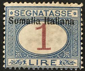 Italy-Somalia-Tax-Sassone-n-19-cv-300-MH-variety-034-S-034-incomplete-at-bottom