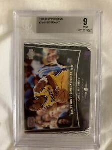 1998-99-Upper-Deck-Game-Dated-75-Kobe-Bryant-Beckett-BGS-9-Mint-Lakers-GOAT