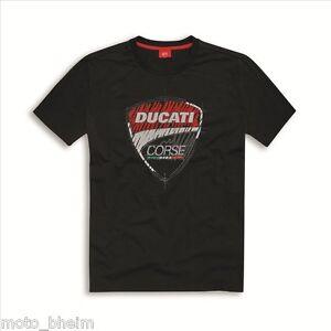T Sketch Nuovo shirt Logo Corse Nero Originale Ducati Shirt Fqf1E