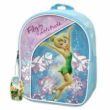 """Backpack 11"""" Disney Tinkerbell Fairy Fly By Attitude New"""