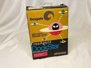 Seagate FreeAgent DockStar Network Adapter NAS Hard Drive Dock