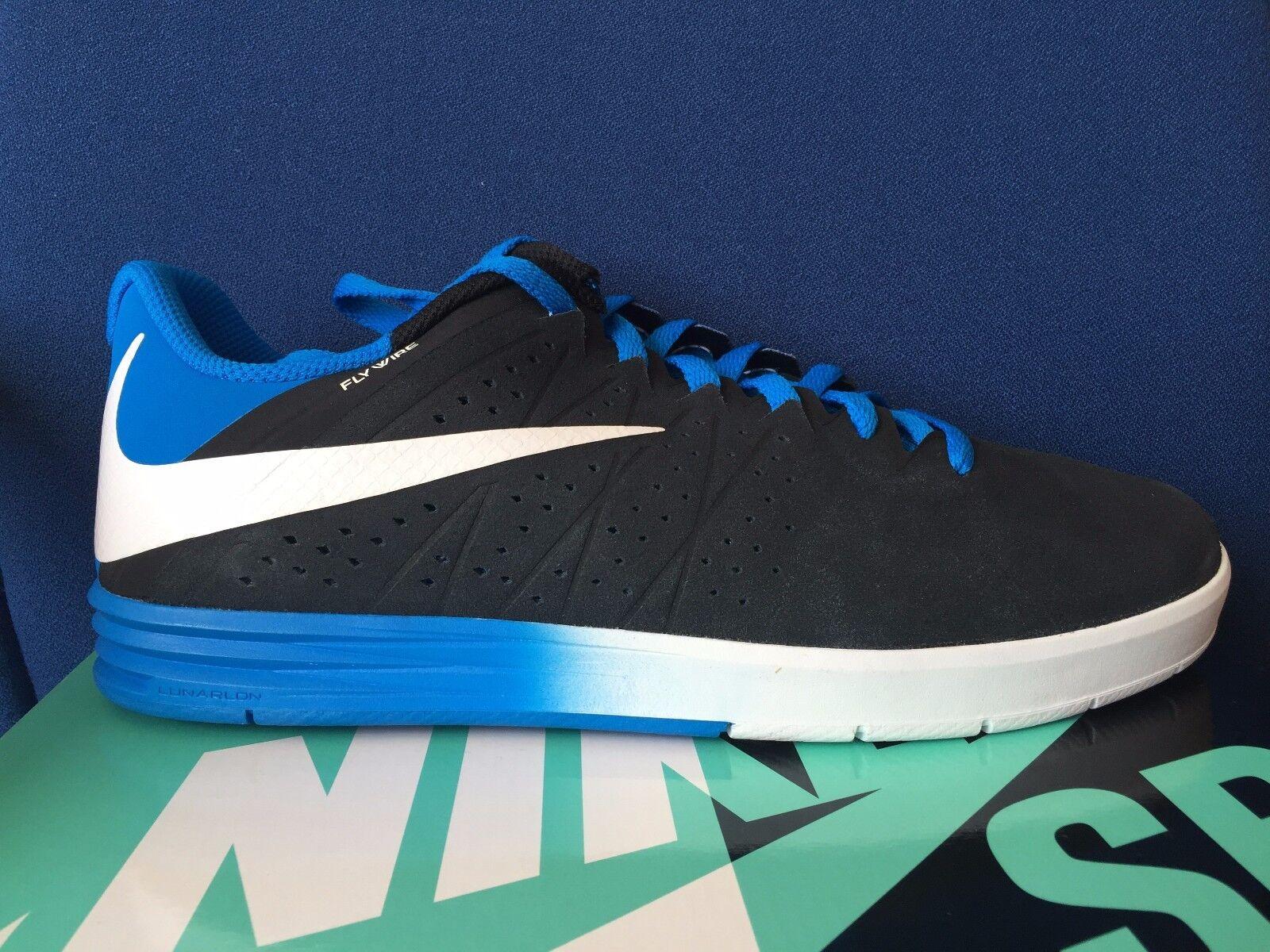 Nike Paul Rodriguez 654863-014 CTD SB sz 12 Black/White-Photo Blue 654863-014 Rodriguez Skate Shoe 2da4b3