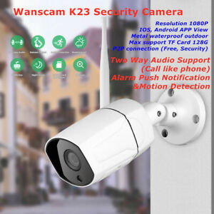 2 Way Audio Wanscam K23 Outdoor Wireless IP Security Camera Webcam HW0043 Upgrad