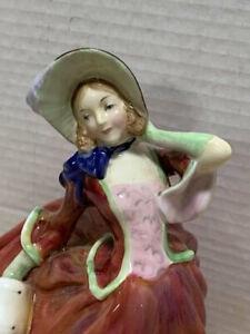 Vintage-Royal-Doulton-034-Autumn-Breeze-034-Figurine-HN-1934-1939-Early-Edition