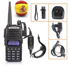 Baofeng-UV-82L-Auricular-1800mAh-2M-70cm-UHF-VHF-Walkie-Talkie-Emisora-Radio-DHL