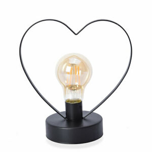 Home-Decor-Heart-Shape-Table-Decoration-Night-Light-LED-Bulb-Desk-Lamp-Gift