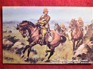 Antique-Postcard-Harry-Payne-Oilette-1st-King-039-s-Dragoon-Guards-1902-Tuck-039-s