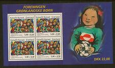 GREENLAND :2004 Greenlandic Children Miniature Sheet SG MS450 unm mint
