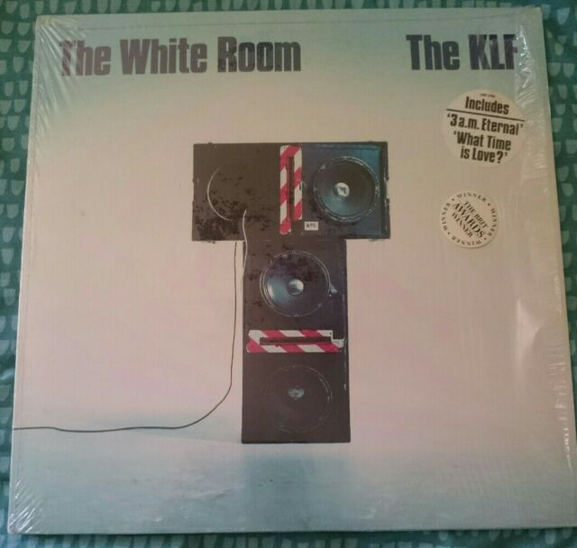 The KLF  The White Room  Rare Vinyl Lp  Original UK 1st pressing 1991 JAMS LP006