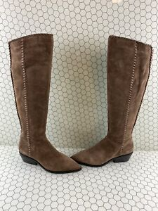 State Women Over the Knee Boots Sage Pointed Toe 1