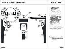 Honda S2000 2004-2009 Real Carbon Fiber Dash Kit Trim HNDA-49A