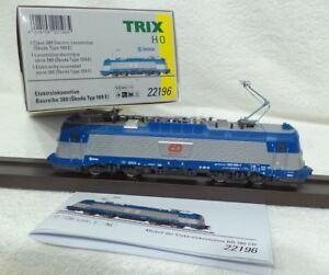 TRIX-22196-Speciaal-CZ-380-006-7-SKODA-102-003-DIGITAAL-led-lichten-MFX-metaal