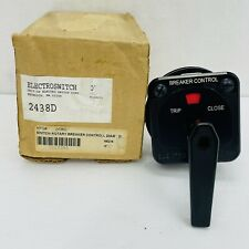 Electroswitch 2438d Rotary Circuit Breaker Control Switch Series 24 New