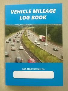 business mileage log book hmrc compliant vehicle record car van