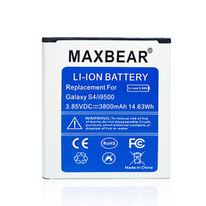 Details about 3800mAh Mobile Power Slim Replacement Battery for Samsung  Galaxy S4 LTE I9506