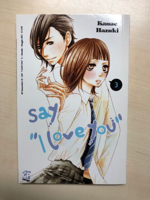 Say I Love You vol. 3 - GP Manga - NUOVO