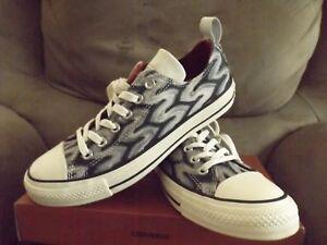 9bb8aa3f01fa Converse Chuck Taylor All Star x Missoni Unisex Sneakers Black ...