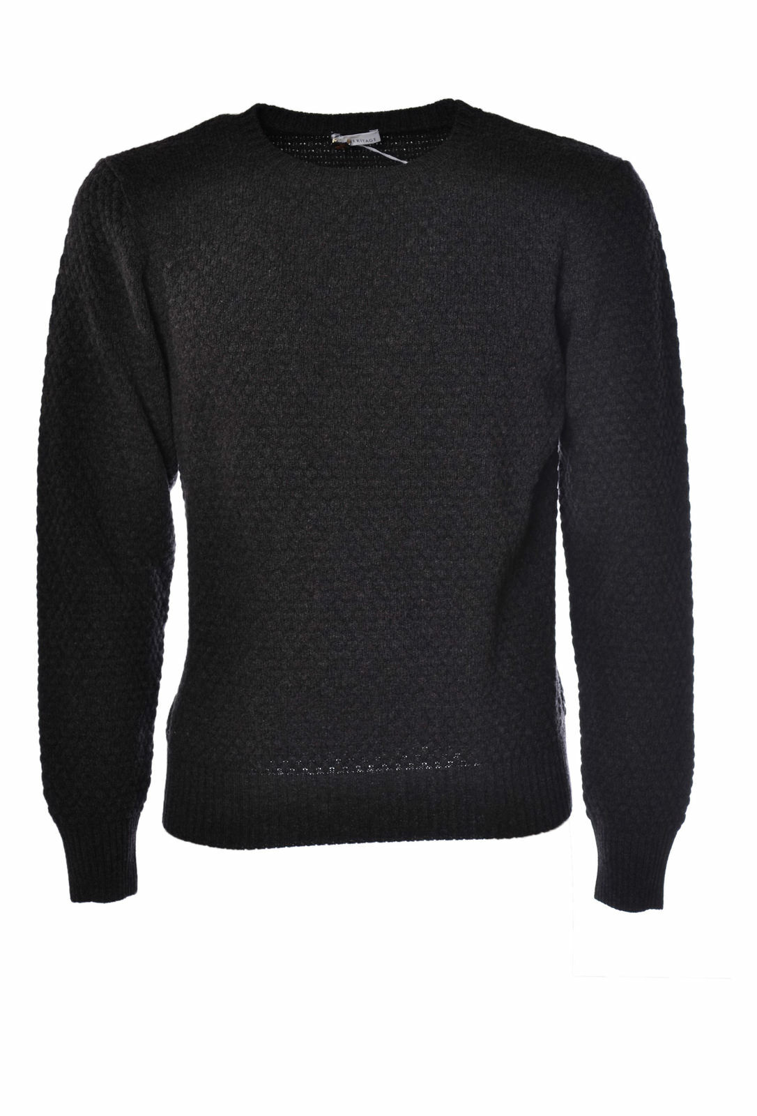 Heritage - Knitwear-Sweaters - Man - Grey - 1030718C184224