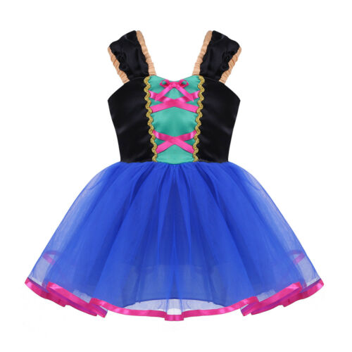 Baby Girl Princess Fancy Tutu Costume Fairy Tale Cosplay Dress Halloween Party