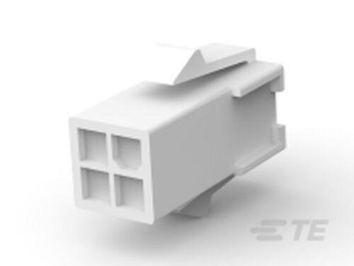 Steckverbinder Mini Universal MATE-N-LOK Buchsen Gehäuse 4polig RM4,14mm rastend