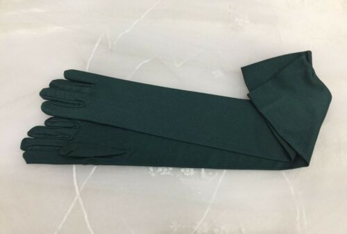 "23/"" Matte Opera Glove Stretch With Spandex.Prom.Halloween.Pick Your Color !"