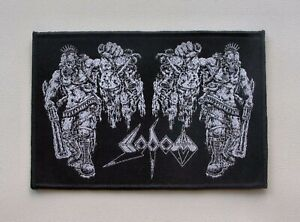 SODOM-Woven-Patch-Kreator-Destruction-Hellhammer-Possessed-Morbid-Saint