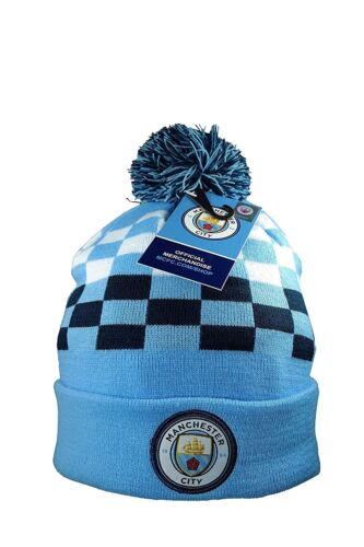 03-2 Authentic Official Licensed Product Soccer Beanie Manchester City F.C