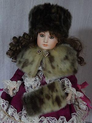 AllforDoll Karakul fur Set for Antique Repro Jumeau Armand Marseille Bru SALE