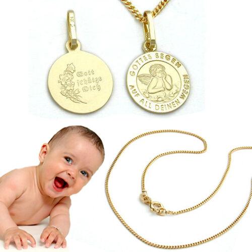 Echt Gold 333 Baby Taufe Name Datum Gravur Armband Stern Steg Panzer Arm Kette