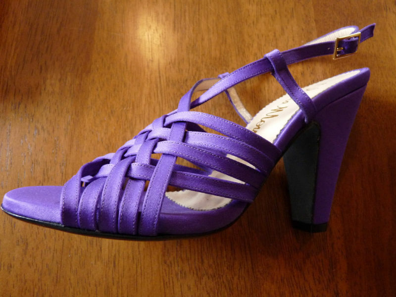 OLIVIA MORRIS FENIX RASO PURPLE SANDALS    EUR 37  UK 4    £365    BNIB