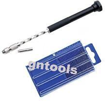 20PC HSS Drill Bits & GN531 PCB Archimedes Twist Drill Jewellery Making Repairs