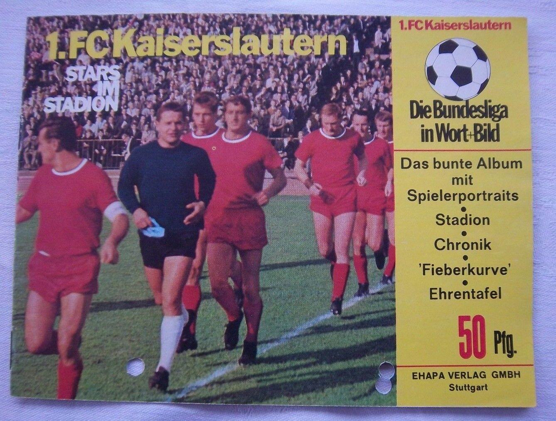 Orig.PRG   Guide   Stars im Stadion - 1.FC KAISERSLAUTERN   von 1966      SELTEN