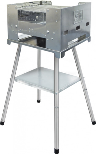 ESBIT stand pour Grill BBQ-Box grand barbecue grill châssis support stand surface