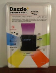 Dazzle-Universal-8-in-1-Digital-Media-Reader-Writer-DM-21200-WC-NEW
