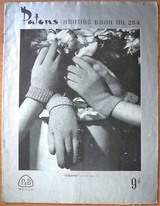 Patons-Knitting-Book-No-284-Gloves